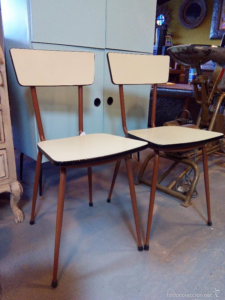 sillas retro cocina - Comprar Muebles vintage en todocoleccion ...