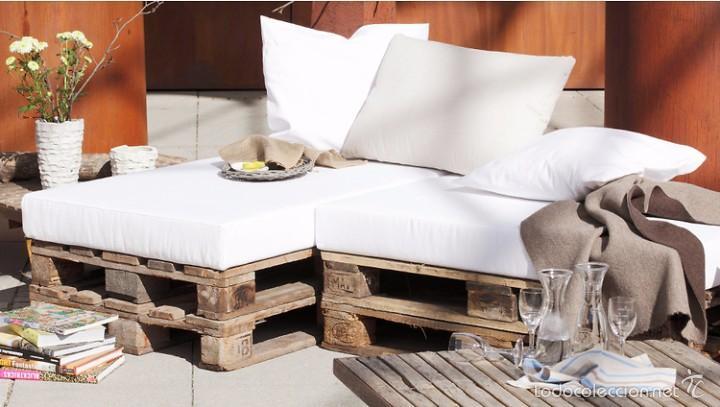 Conjunto de sofa y dos sillones con palets comprar - Comprar muebles palets ...