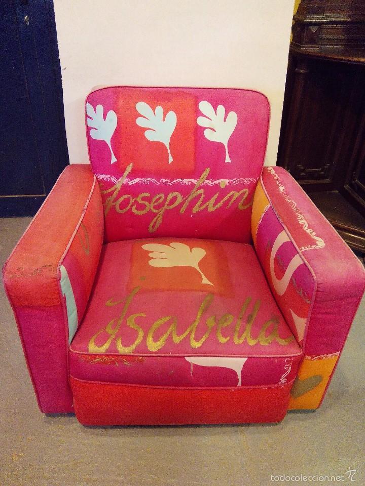 Tiendas De Muebles En Vizcaya : Butaca vintage comprar muebles en todocoleccion