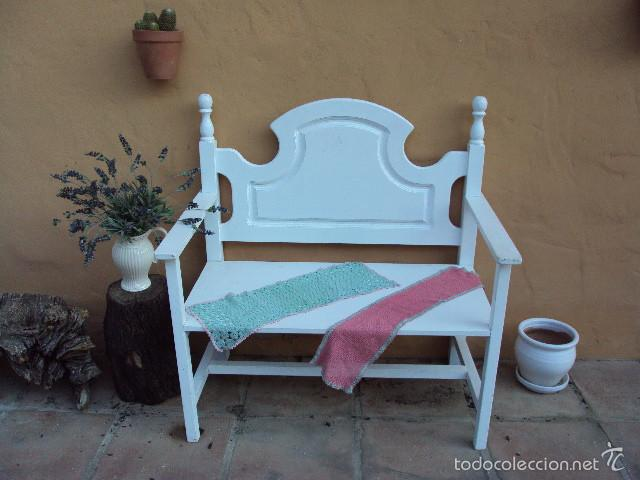 banco de madera - Comprar Muebles vintage en todocoleccion - 56966944