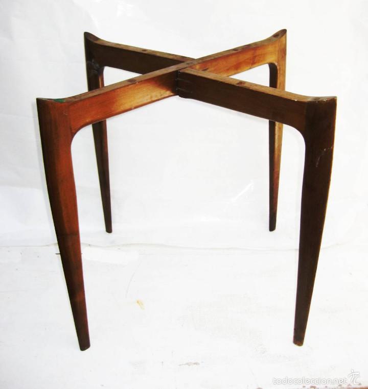 Fantastica mesa midcentury estilo g plan o dise comprar muebles vintage en todocoleccion - Mesita auxiliar sofa ...