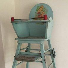 Vintage: ANTIGUA TRONA INFANTIL. Lote 57090813
