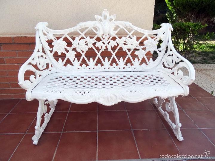 banco de hierro colado para jardín - Comprar Muebles ... - photo#44