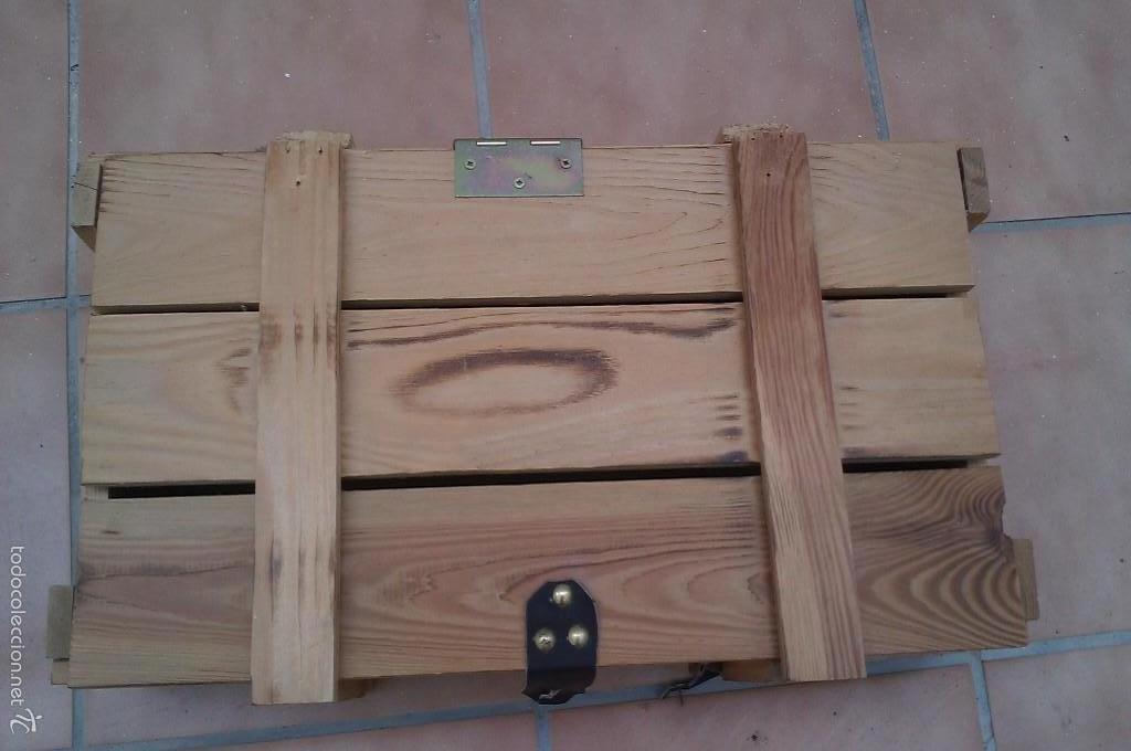 caja vino en madera completa con tapa Comprar Muebles vintage en
