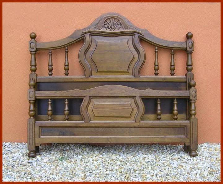 Cama de casta o estilo provenzal a os 80 comprar - Muebles estilo provenzal ...