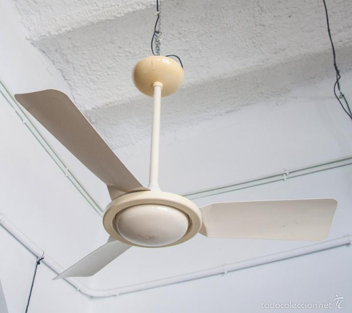 Ventilador de techo s p metal lacado espa a comprar - Ventilador de techo vintage ...