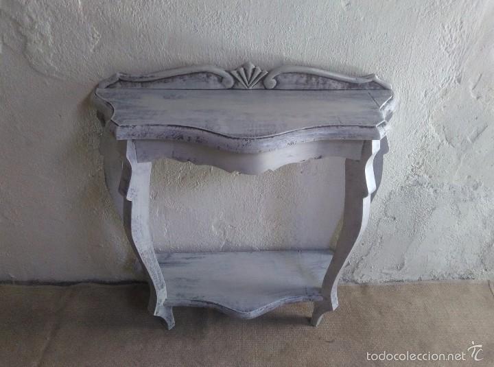 Mueble auxiliar antiguo retro vintage consola comprar - Muebles de entrada vintage ...