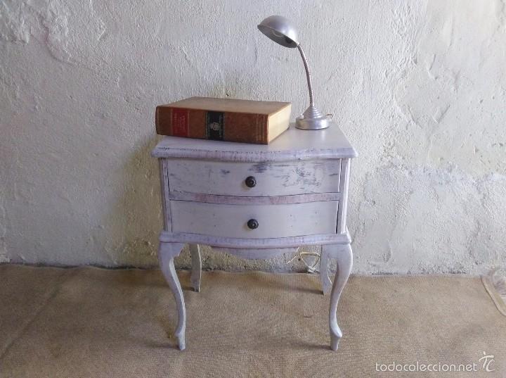 mesita antigua vintage, mesilla antigua vintage - Comprar Muebles ...