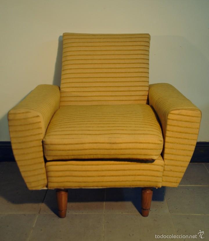 Sillones amarillos a os 60 comprar muebles vintage en todocoleccion 58065906 - Muebles anos 60 ...