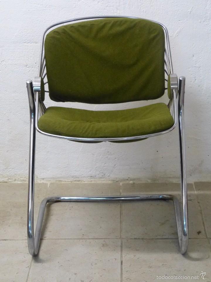 Silla metalica dise o italiano comprar muebles vintage - Sillas diseno italiano ...