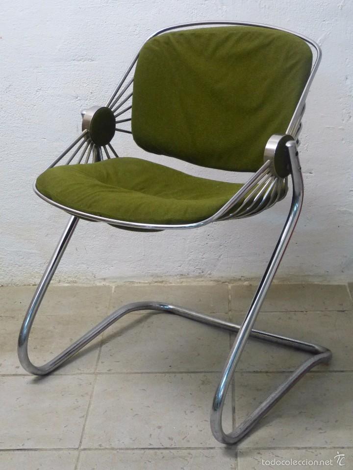 Silla metalica dise o italiano comprar muebles vintage for Sillas diseno italiano