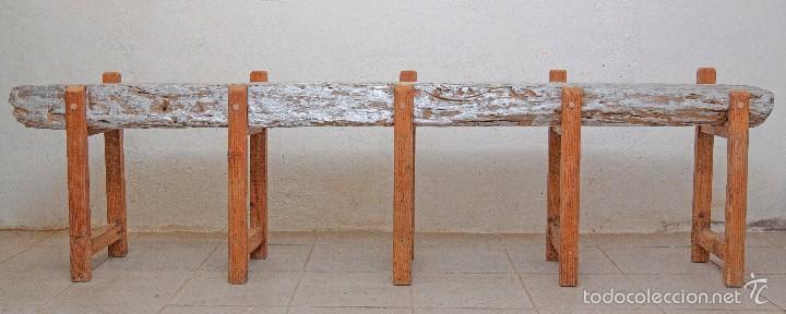 banco reciclado. - Comprar Muebles vintage en todocoleccion - 58185755