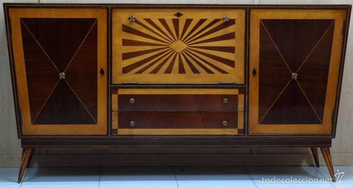 Mueble bar aparador dise o brasile o hacia 1940 comprar for Muebles bar diseno