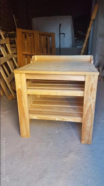 Mueble rustico de ba o para lavabo retro comprar muebles for Muebles retro online