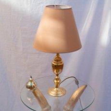 Vintage - Mesita auxiliar de madera tallada dorada - 57563927