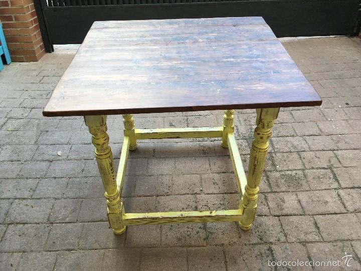 mesa de comedor o cocina, tamaño pequeño - Kaufen Vintage-Möbel in ...
