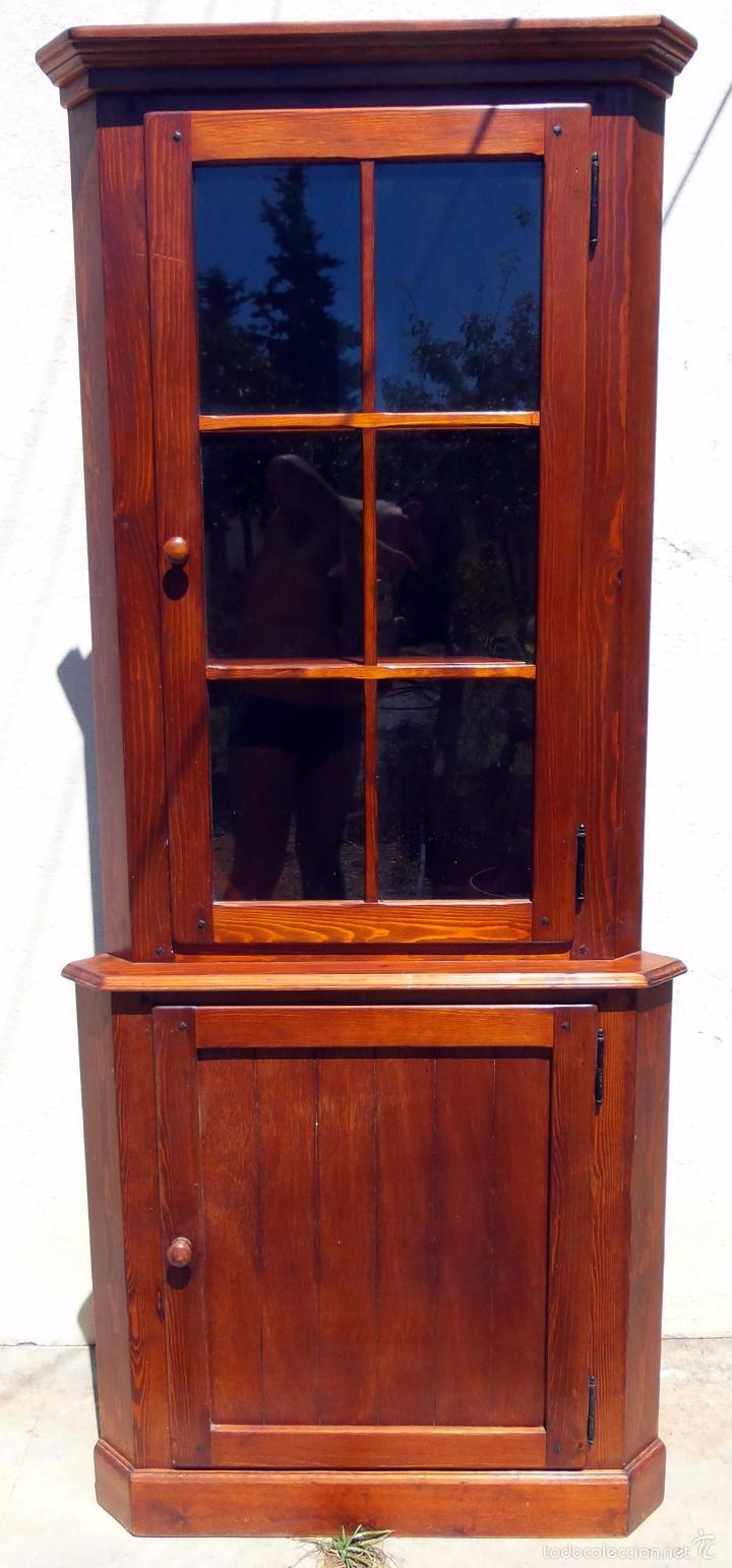 Mueble De Esquina Triangular Comprar Muebles Vintage En  # La Esquina Muebles