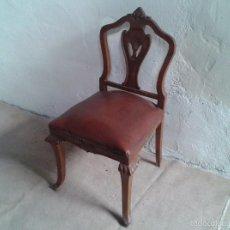 Vintage: SILLA DESCALZADORA ANTIGUA, SILLA DESCALZADORA VINTAGE, AÑOS 40.. Lote 61146827