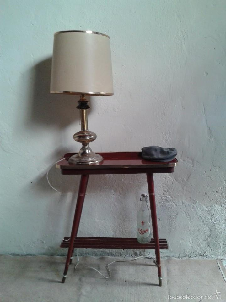 Consola antigua retro vintage mueble auxiliar e comprar for Muebles estilo retro