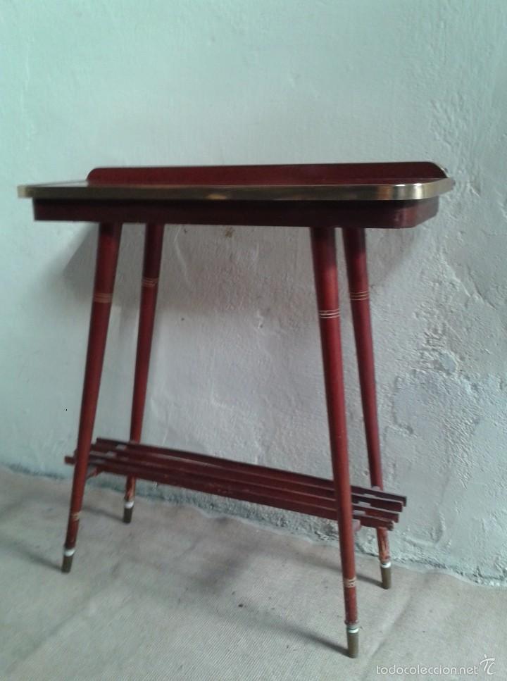 Consola antigua retro vintage mueble auxiliar e comprar for Muebles estilo vintage online