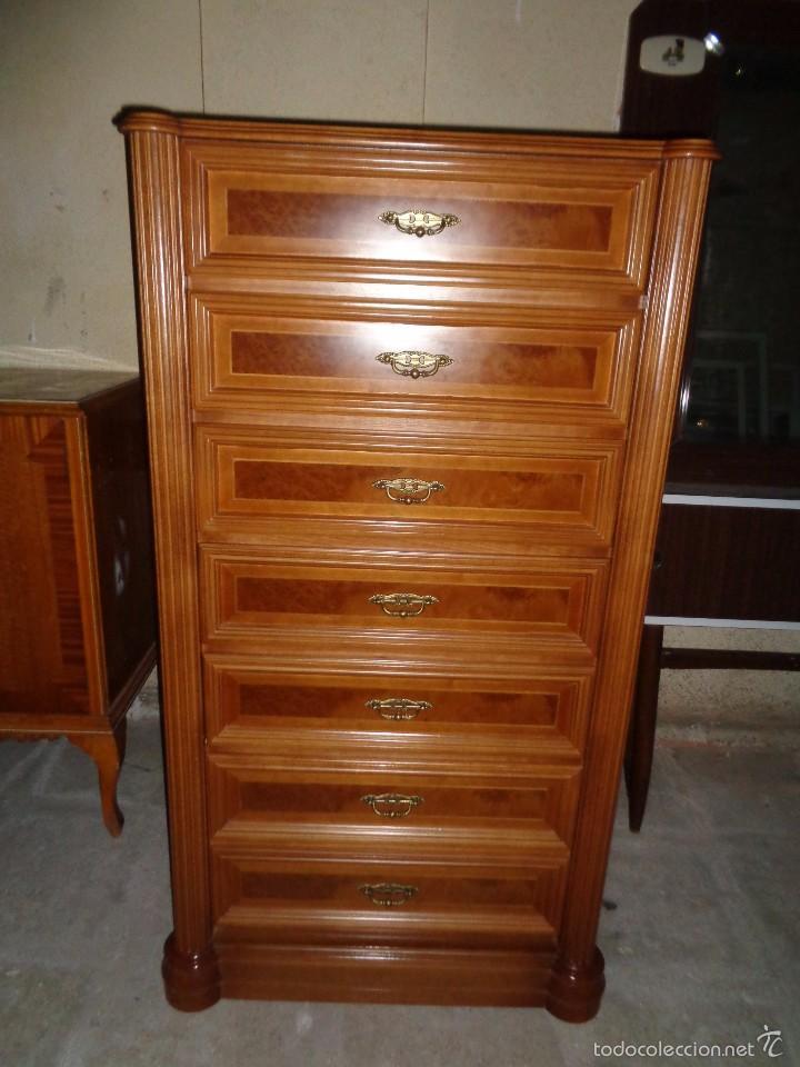 Cajonera de madera perfecto estado comprar muebles for Muebles vintage on line