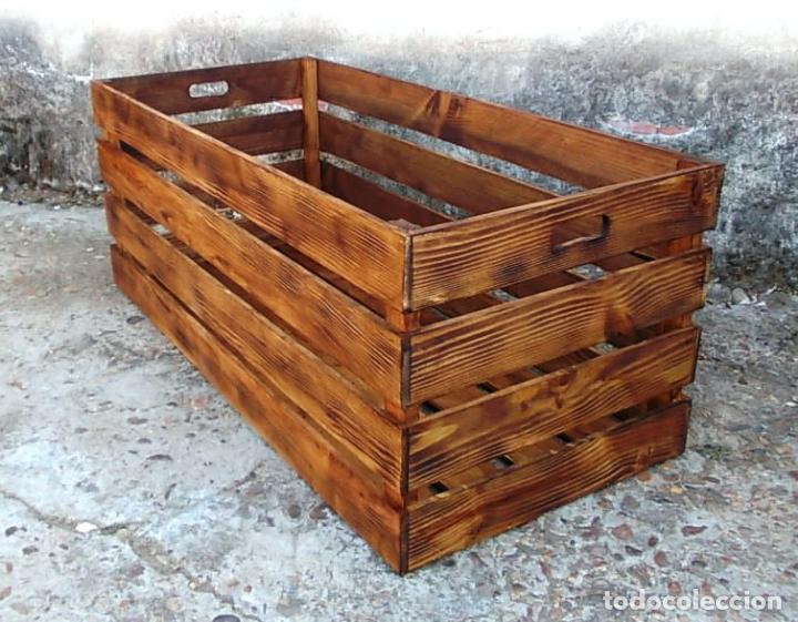 caja de fruta madera para mesa de centro mue vintage muebles