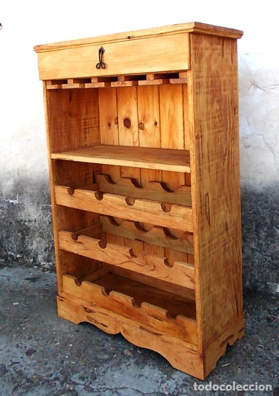 Botelleros de madera rusticos best botelleros de madera rusticos with botelleros de madera - Botelleros rusticos ...