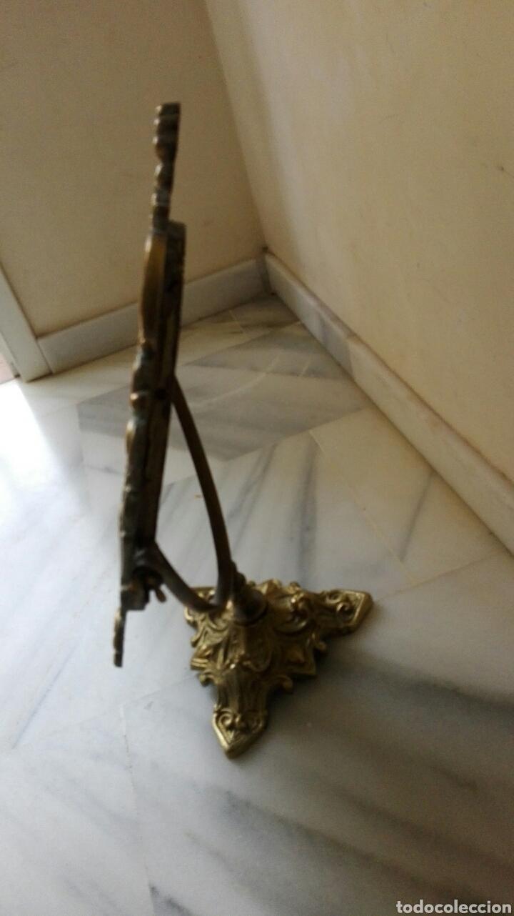 Vintage: Precioso espejo antiguo en bronce - Foto 4 - 62450722