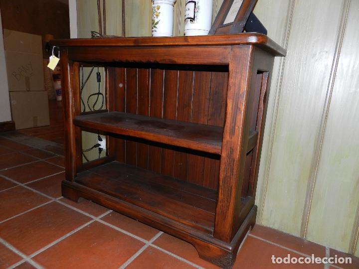 Mueble estanter a en madera de pino envejecido comprar - Muebles online vintage ...