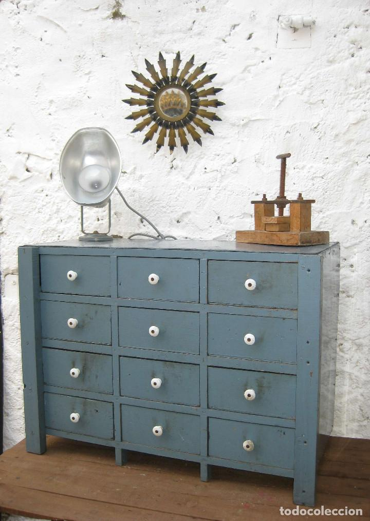 Precioso mueble vintage madera ideal decoracion comprar for Comprar mueble industrial