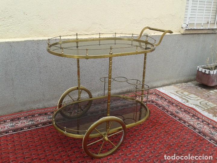 Camarera retro antigua vintage carrito de servi comprar muebles vintage en todocoleccion - Carrito camarera vintage ...