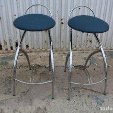 Vintage: 2 SILLAS TABURETES AÑOS 70. Lote 64200171