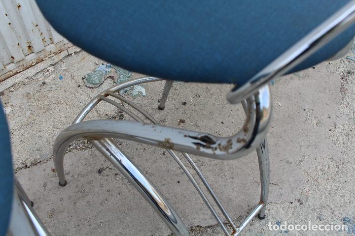 Vintage: 2 sillas taburetes años 70 - Foto 6 - 64200171