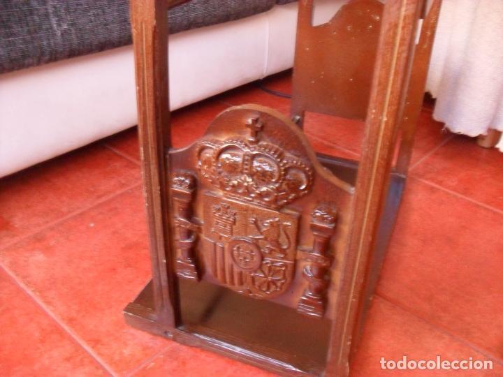 Vintage: bonito mueble para periodicos,revistas,vintage,unico en TC,publicidad años 60,muchas fotos detalles - Foto 11 - 195356863