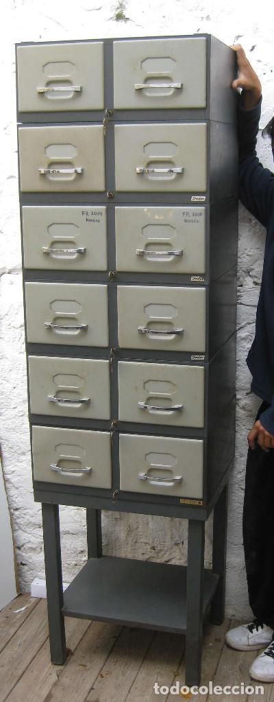 Bestial 180cm mueble vintage cajonera archivado comprar - Muebles online vintage ...