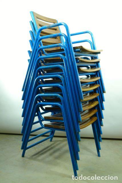 Sillas de terraza de hierro a os 60 comprar muebles - Sillas anos 60 ...
