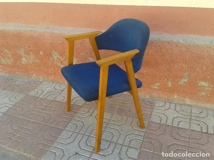 Vintage: Butaca nórdica silla antigua vintage estilo escandinavo sillas vintage estilo danés, estilo nórdico. - Foto 2 - 66942946