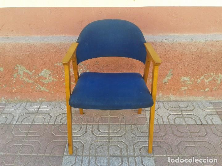 Vintage: Butaca nórdica silla antigua vintage estilo escandinavo sillas vintage estilo danés, estilo nórdico. - Foto 3 - 66942946