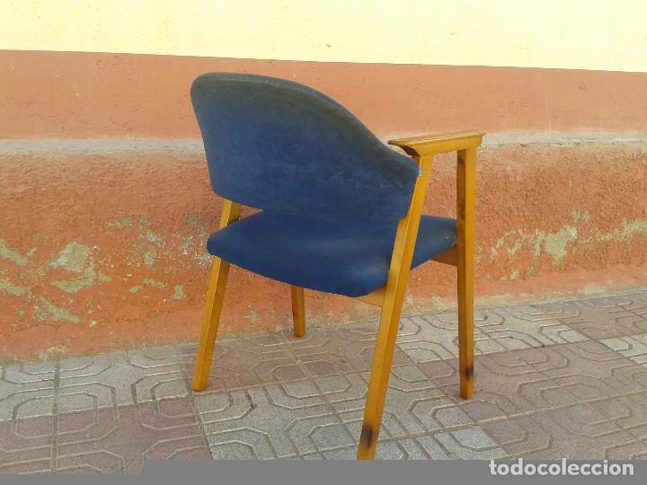 Vintage: Butaca nórdica silla antigua vintage estilo escandinavo sillas vintage estilo danés, estilo nórdico. - Foto 5 - 66942946