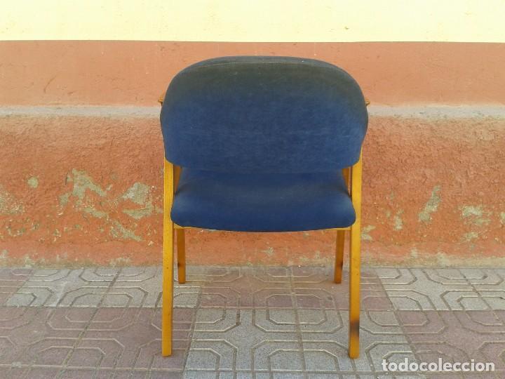 Vintage: Butaca nórdica silla antigua vintage estilo escandinavo sillas vintage estilo danés, estilo nórdico. - Foto 6 - 66942946