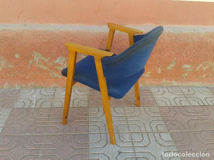 Vintage: Butaca nórdica silla antigua vintage estilo escandinavo sillas vintage estilo danés, estilo nórdico. - Foto 7 - 66942946