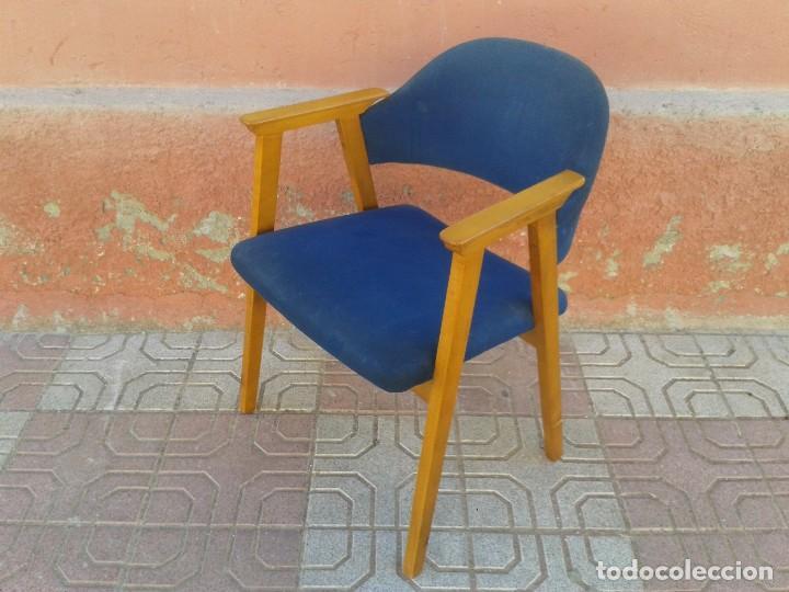 Vintage: Butaca nórdica silla antigua vintage estilo escandinavo sillas vintage estilo danés, estilo nórdico. - Foto 8 - 66942946