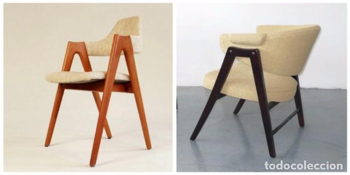 Vintage: Butaca nórdica silla antigua vintage estilo escandinavo sillas vintage estilo danés, estilo nórdico. - Foto 9 - 66942946