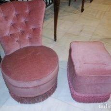 Vintage: SILLA Y REPOSA PIES. REF. 5914. Lote 67159921