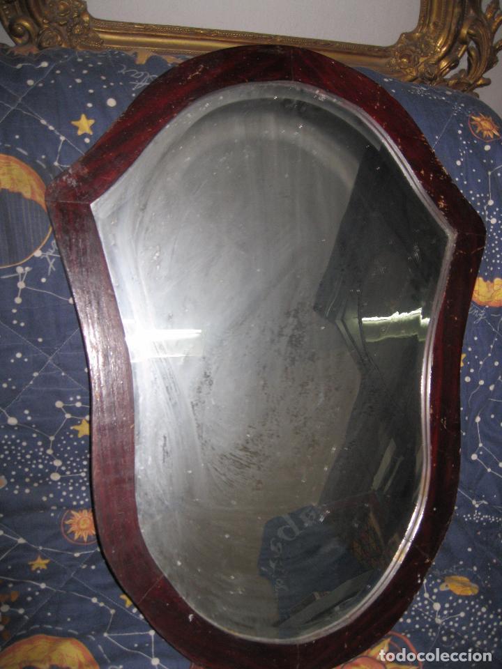 espejo viselado antiguo modernista para entrada - Comprar Muebles ...