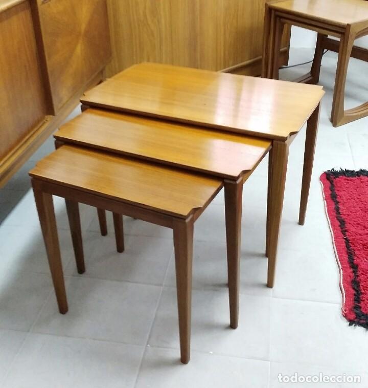 mesas de nido de teka aos diseo escandinavo danes mid century vintage muebles with muebles diseo escandinavo