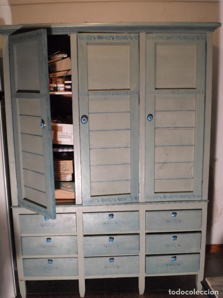 vitrina mueble de oficina antiguo armario libre - Comprar Muebles ...