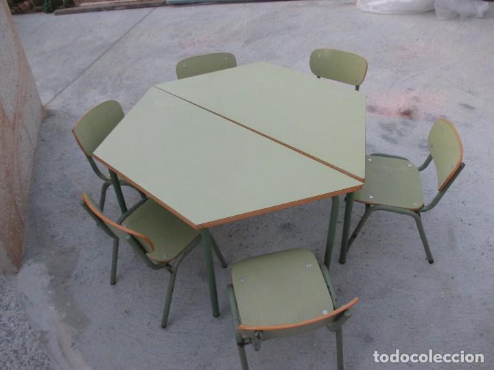 federico giner sa - lote de 6 sillas de guarder - Comprar Muebles ...