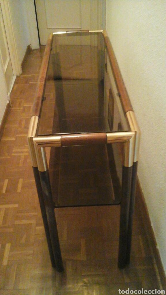 Mueble recibidor comprar muebles vintage en todocoleccion 70091597 - Muebles recibidor vintage ...