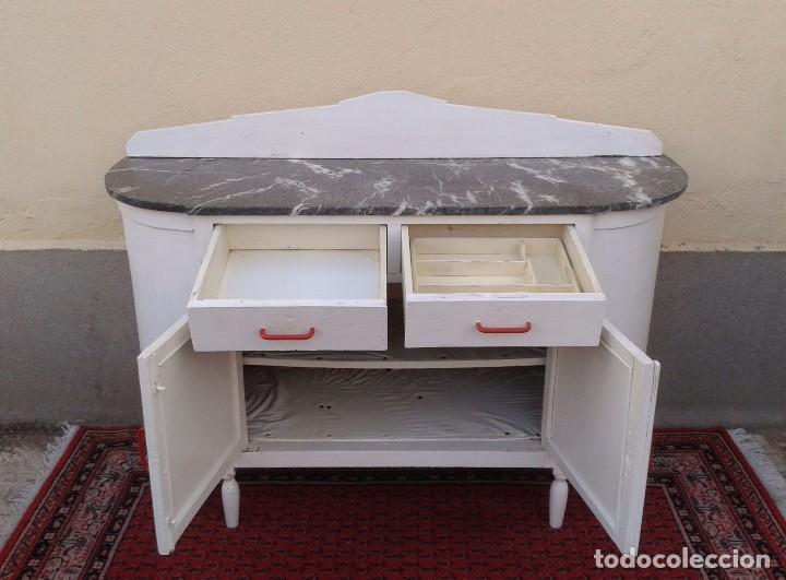 Armario Antiguo Pintado ~ aparador antiguo vintage, mueble auxiliar, mueb Comprar Muebles vintage en todocoleccion
